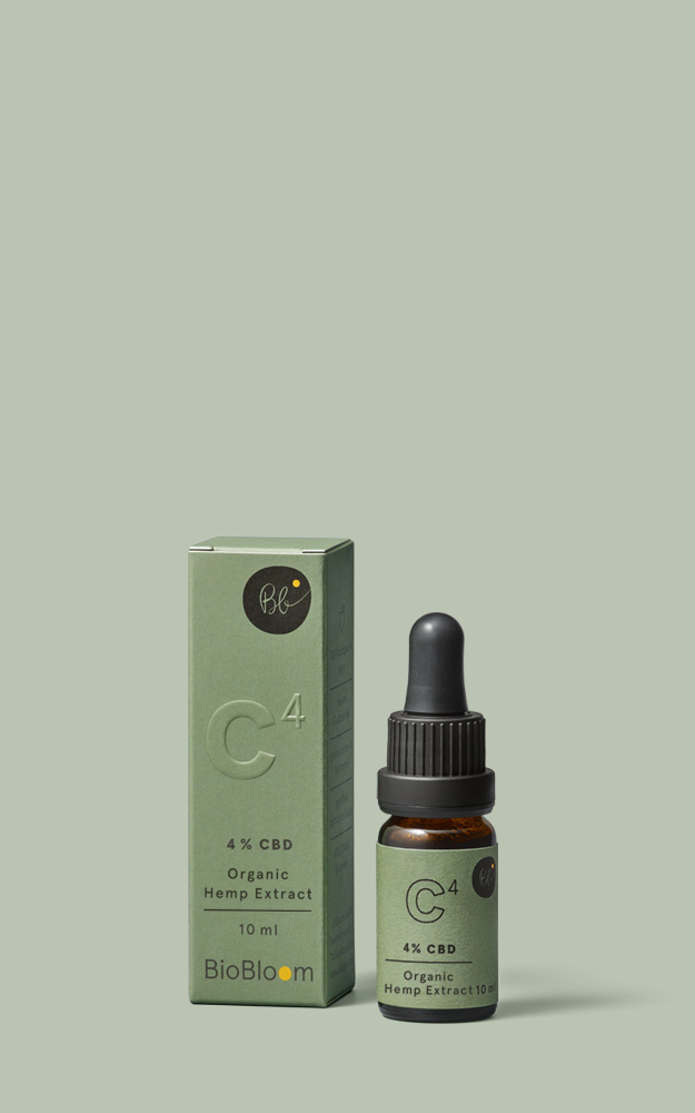 4 % Organic CBD Oil - 10 ml - Organic hemp full extract