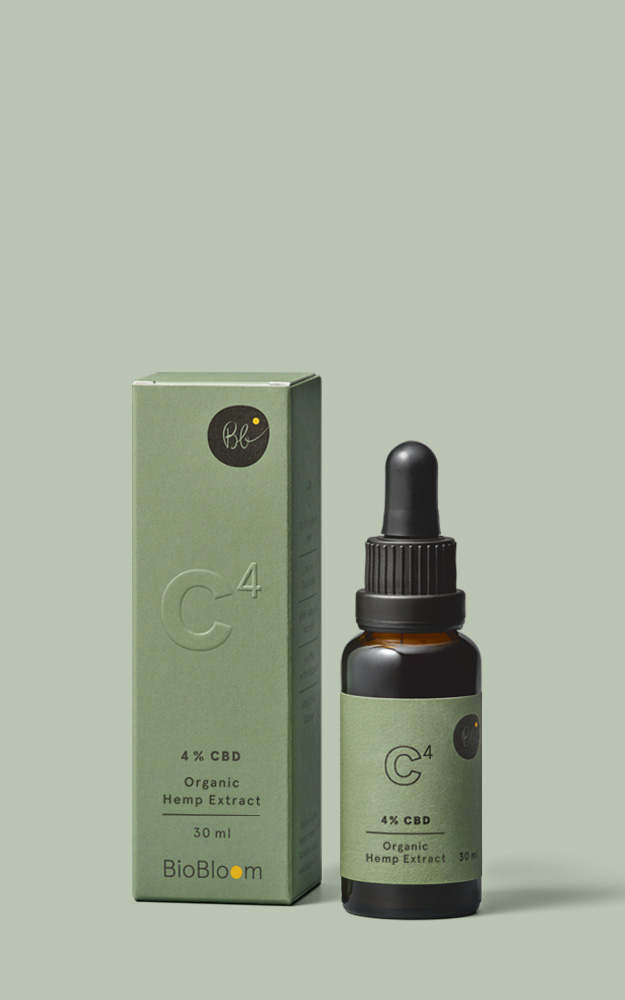 4 % Organic CBD Oil - 30 ml - Organic hemp full extract