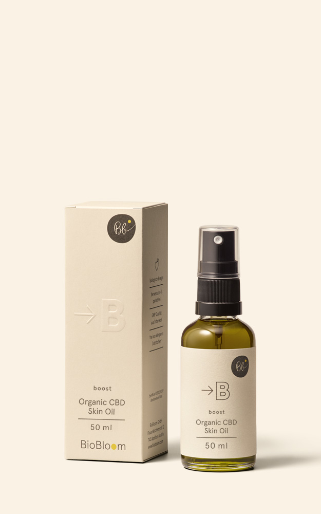 CBD skin oil - boost