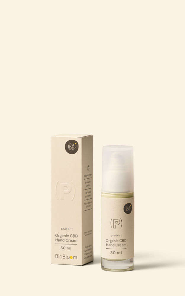 Organic CBD Handcream - protect
