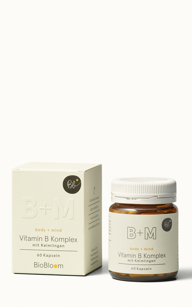 Vitamin B Komplex - body + mind
