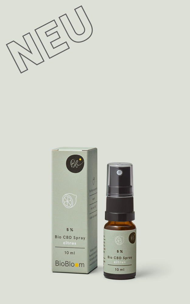 Bio CBD Spray citrus