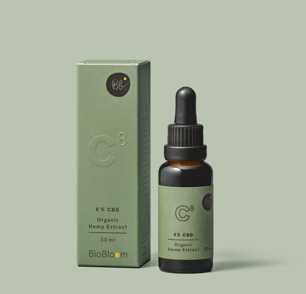 8 % Organic CBD oil 30ml