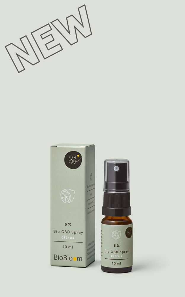 Organic CBD Spray citrus